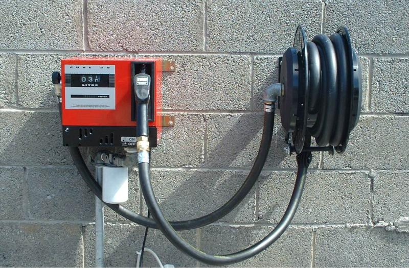 Топливораздаточный модуль с катушкой