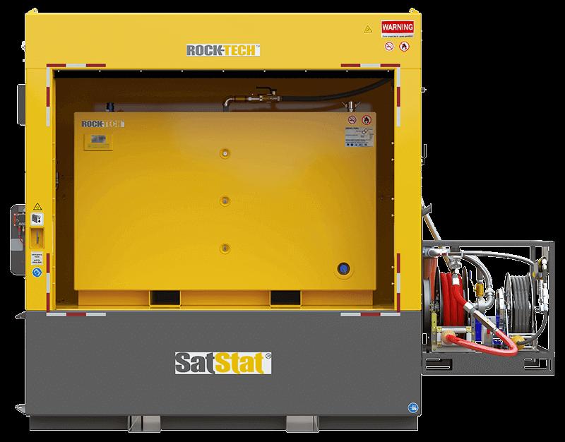 Модульная установка SatStat для раздачи и хранения топлива