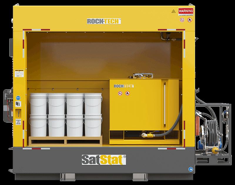 Модульная установка SatStat для раздачи и хранения масла